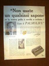 Pubblicità del 1908 Sapone Palmolive Non usate un sapone qualsiasi