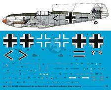 Peddinghaus 1/32 Bf 109 E-4 Markings Franz von Werra II./JG 3 England 1940 3181