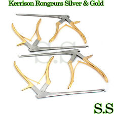 KERRISON Rongeurs Silver & Gold (1, 2, 3, 4mm) Cervical Orthopedic Surgical