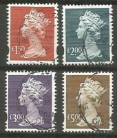 1999 HIGH VALUES SGY1800 / Y1803 SET - VERY FINE USED AS SCAN ( 1 )