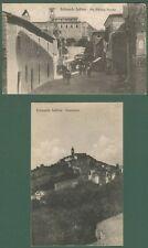 Lazio. BELMONTE SABINO, Rieti. Due cartoline d'epoca viaggiate nel 1928.