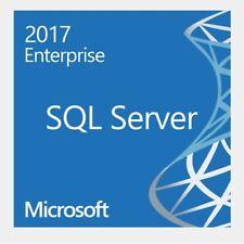 Microsoft SQL Server 2017 Enterprise 64-bit Original