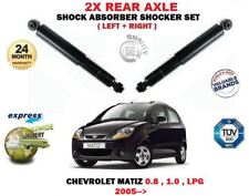 FOR CHEVROLET MATIZ 0.8 1.0 LPG 2005->NEW 2X REAR LEFT RIGHT SHOCK ABSORBERS SET
