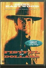 CLINT EASTWOOD SERGIO LEONE A FISTFUL OF DOLLARS DVD REGION 2