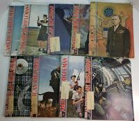 Lot of 9 American Rifleman Magazines 1944 - 1947