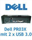Dell PR03X  Dockingstation für Latitude E Serie mit 2 x USB 3.0 ohne Netzteil