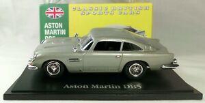 Aston Martin DB5 1/43 Classic British Sports Car 2008 Atlas Diecast