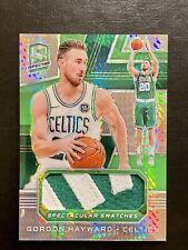 2018-2019 Panini Spectra Gordon Hayward Lime Green Prizm Patch  #1/25 Celtics