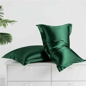Mulberry Silk Standard Pillow Case Slip Protector 25 Momme Silky Double Sides