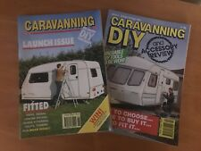 Caravanning DIY magazine , Issues 1 And 2 , 1992
