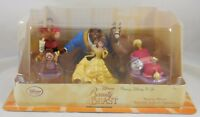 New Disney Store Beauty and The Beast PVC Figure Playset Figurine Play Set Belle