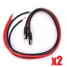 2X DC Power Cord Cable Motorola Repeater Mobile Radio CDM750 CDM1250 CDM1550