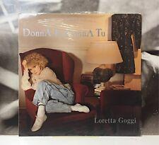 LORETTA GOGGI - DONNA IO DONNA TU LP NUOVO SIGILLATO 1988 FONIT CETRA TLPX 199