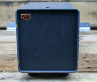JRC: External Desktop Speaker - Model NVA-515, Steel Blue