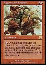 ▼▲▼ Aggravated Assault (Escalade de violence) ONSLAUGHT #185 ENGLISH Magic