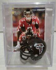 Matt Ryan Atlanta Falcons Mini Helmet Card Display Collectible Case QB Auto