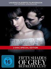FIFTY SHADES OF GREY-BEFREITE LUST-DIGIBOOK -  2 DVD NEU