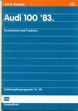 SSP 49 Audi 100 Typ 44 Handbuchstudie 1982