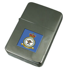 Royal Air Force Cranwell College Coat Of Arms Engraved Lighter