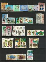 MNZ110) New Zealand 1967 - 1979 Health Stamp Sets MUH