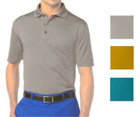 New Grand Slam Men's Classic-Fit Solid Ottoman Ribbed-Textured Performance Polo
