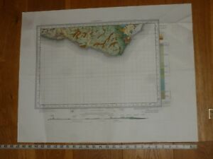 EASTBORNE GEOLOGICAL MAP - Sheet 334 - (Please see Photo's for Size)