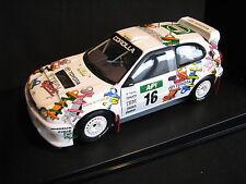 AutoArt Toyota Corolla WRC 1998 1:18 #16 Fujimoto / Sircombe Australia (AK)