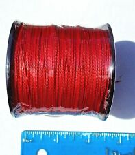 550yds (500m) SUPERLINE 30lb test RED Braid Fishing Line,Durable & Strong,