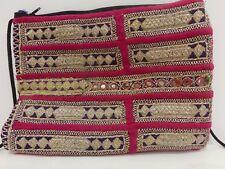 Vintage india Bolso Clutch Bag bandolera hippie purse Festival