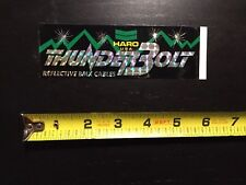 Vintage Haro BMX Racing Freestyler Thunderbolt Cables Sticker Decal