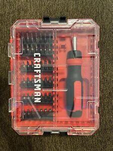 CRAFTSMAN screwdriver and bit set