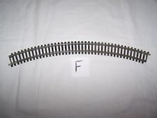 R605 ~ Curved track ~  Made in England ~ 30cms ~ With rail joiners ~ OO