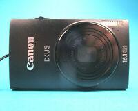 Canon IXUS 240-HS 16MP-5x4-Zoom  Zubehörpaket 16GB-SD-Karte Hardcase 2 Akkus  K1