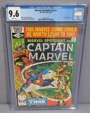MARVEL SPOTLIGHT v2 #8 (Captain Marvel app) CGC 9.6 NM+ 1980 Frank Miller cover