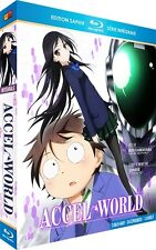 ★Accel World ★ Intégrale - Edition Saphir [3 Blu-ray]