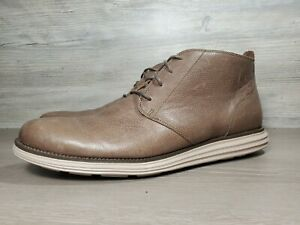 Cole Haan grey chukka boot grand o.s mens sz 13 M (b1