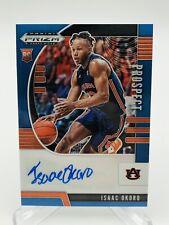 2020-21 Prizm Draft Picks Isaac Okoro BLUE Rookie Auto Card 61/149 - Cavaliers