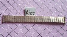 BRACELET MONTRE EXTENSIBLE PLAQUE OR LAMINOR  /  20mm / RZ78