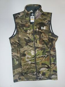 Under Armour Mens Zephyr Fleece Hunting Vest Size SMALL NWT 1316864-940 Forest S