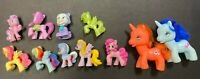 Lot Of 11 My Little Pony Figures Different Sizes - GREAT COLLECTION