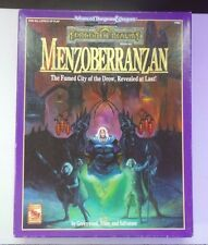 MENZOBERRANZAN BOX SET DUNGEONS & DRAGONS AD&D 2ND EDITION TSR 1083 COMPLETE