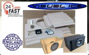 """Flat pack self build 12"""" sub speaker enclosure cabinet home van car audio bass"""