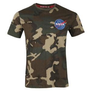 Alpha Industries Space Shuttle T Shirt Camo