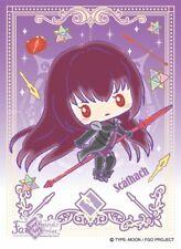 Fate Grand Order Sanrio Lancer Shishou Scathach Card Character Sleeve EN-549 FGO