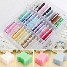 50Pcs Embroidery Plastic Thread Bobbin for Cross Stitch Line Floss Craft Sewing