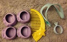 Vintage G1 My Little Pony Wear Clothing Accessory Set Fancy Dress Shoes Tiara