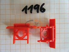 2x ALBEDO Ersatzteil Ladegut Drehschemel für Anhänger rot 1:87 - 1196