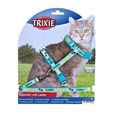 Trixie Katzen-Garnitur mit Leine - mit Motivband