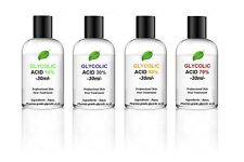 GLYCOLIC ACID PEEL 30ML - Acne - your choice of % - 10% to 70%