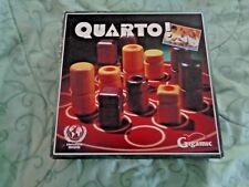 GIGAMIC QUARTO! AGES 8 - 99 2 PLAYERS THE WORLD'S MOST INT'L AWARDING GAME